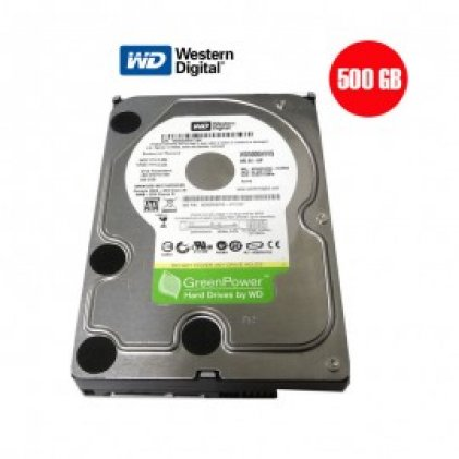 Cod.013 Disco Duro Western Digital 500GB/ 3.5