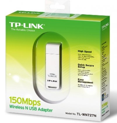 Cod.006 Wireless Mini USB Adapter TL-WN727N/ 150Mbps/2.4Ghz