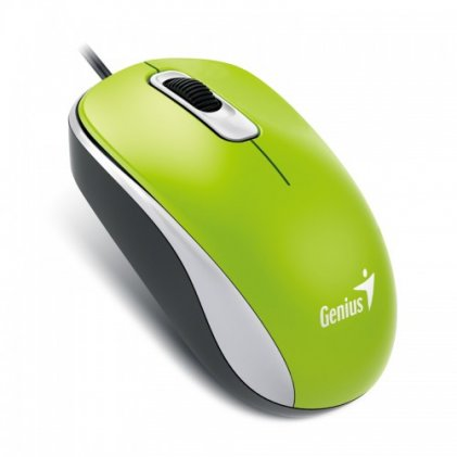 Cod.049 Mouse Genius USB XScroll Optical DX-110 G5 GREEN