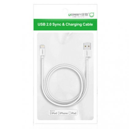 Cod.070 CABLE PARA IPHONE/IPOD/IPAD/ X MFi LIGHTNING CARGADOR RÁPIDO/CERTIFICADO POR APPLE/1 Metro