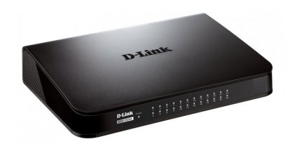 Cod.060 SWITCH D-LINK DES-1024A/24 PUERTOS FAST ETHERNET/HASTA100Mbps/Tecnología D-link Green/PLUG AND PLAY/AUTO MDI/MIDX/INDICADORES LED/GARANTIA 1 AÑO