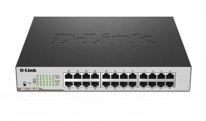 Cod.063 SWITCH D-LINK DGS-1100 Series SMART MANAGED 24-PORT GIGABIT PoE