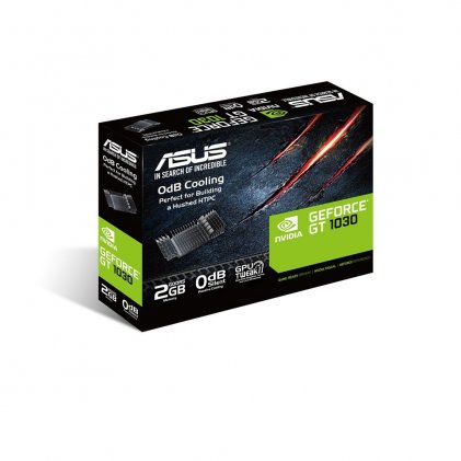 Cod.164  Tarjeta de Video ASUS NVIDIA GeForce GT 1030 / 2GB DDR5/HDMI/DVI-D/PCI-E 3.0/DIRECTX12/GT1030-2G-CSM