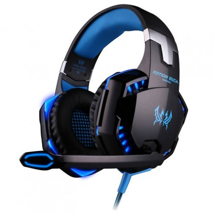 Cod.027 Headphone Stereo GAMING G2000 /con micrófono/ luz led/KO