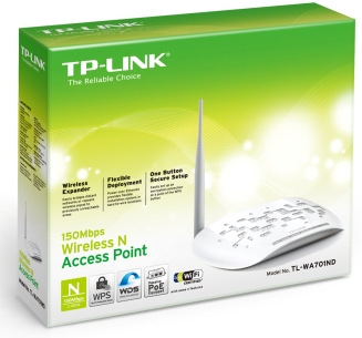 Cod.009 Access Point TP-LINK TL-WA701ND/150Mbps Wireless/1-port