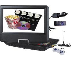 Cod.009 Portable DVD PLAYER NS-769