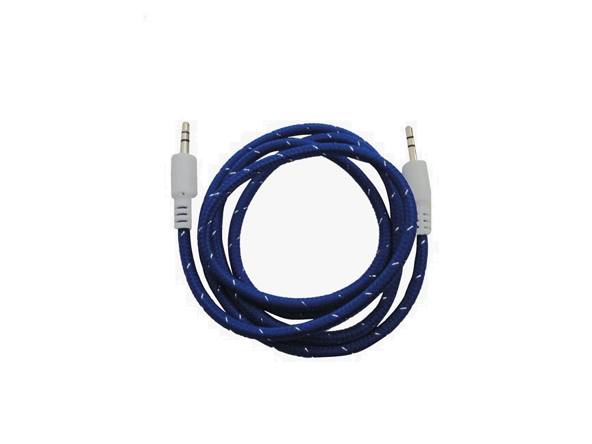 Cod.062 Cable Auxiliar de audio/ tipo cordon/ varios colores