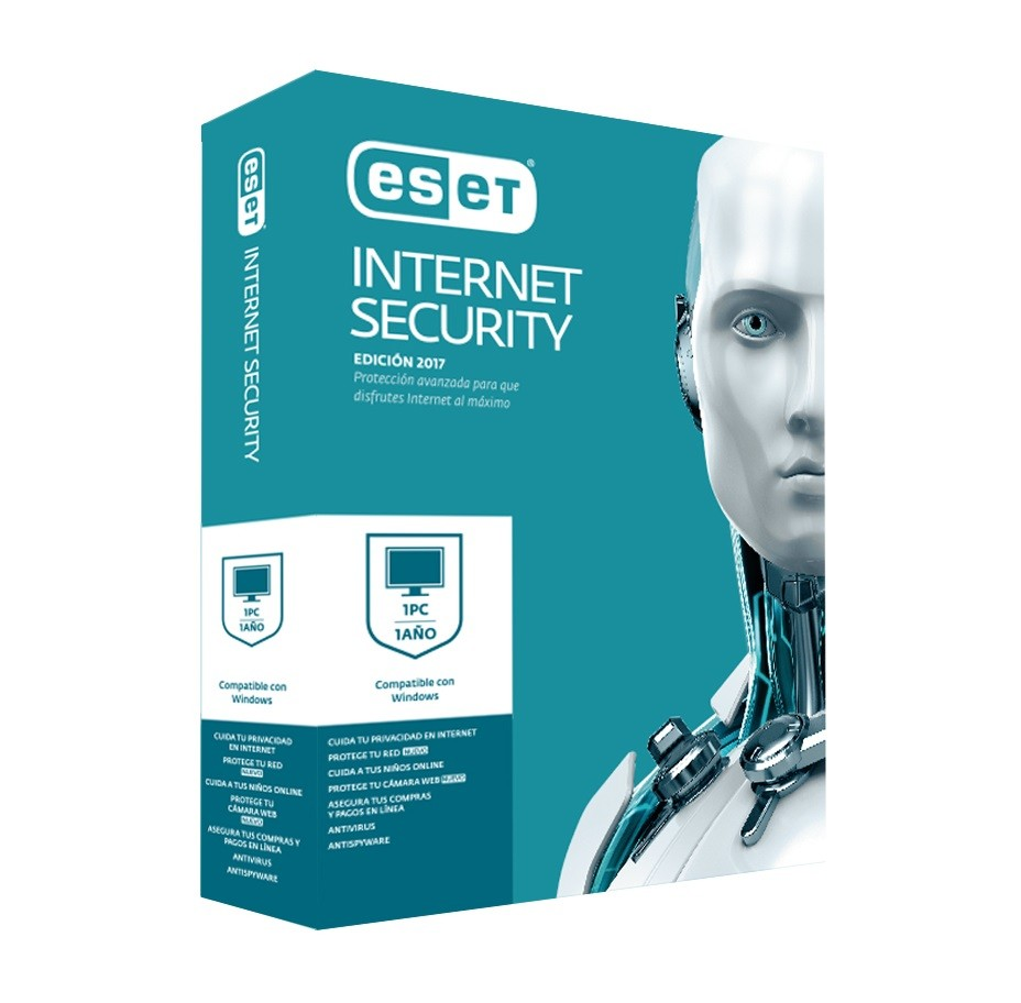 Cod.054 Licencia ESET Internet Security 2017+CD/1 año