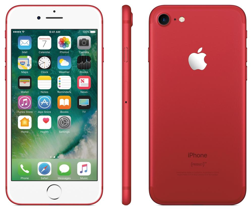 Cod.087 Teléfono Apple iPhone 7 128 GB Red/ 12 Mpx/ Bluetooth/ G